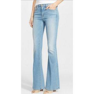 Frame Denim Le High Flare Light Wash Jeans Size 30